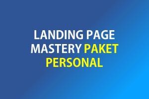 Landing Page Mastery Paket Personal
